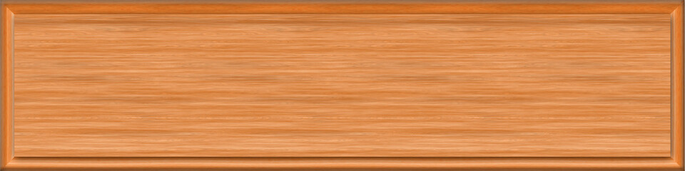 1x4 Cedar Rectangle Sign Blank