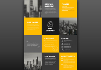 Company Infographic Layout