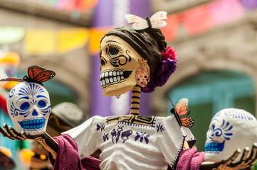 catrinas calaveras dia de muertos halloween mexico tradiciones
