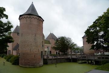 Foto auf Gartenposter Schloss Schloss in Schagen