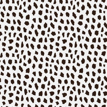 seamless pattern with cheetah skin