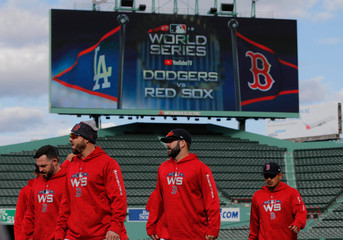 MLB: World Series-Workouts