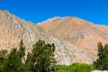 Paisaje del Valle del Elqui Chile