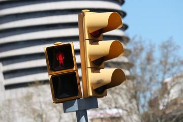 Traffic Lights in Barcelona
