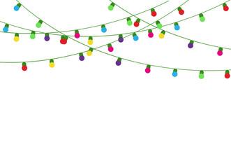 Christmas lights lamp