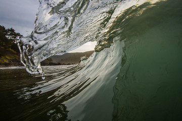 Glassy Green Wave