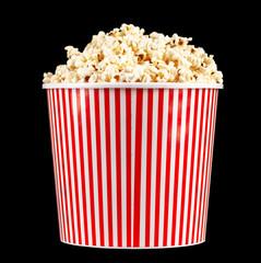 Full popcorn bucket