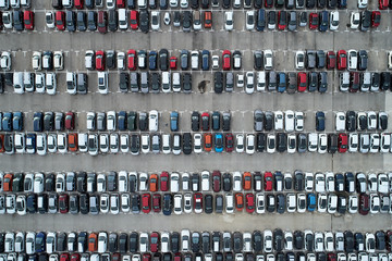 Cars from above.