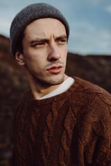 Stylish Young Man Portrait