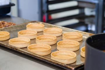 empty pie shells