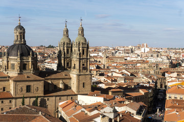 Amazing View Of Salamanca, Spain