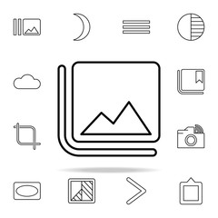 Image sign icon. Image icons universal set for web and mobile