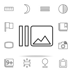 Burst sign icon. Image icons universal set for web and mobile