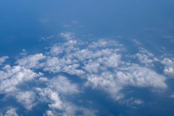 blue sky cloud background