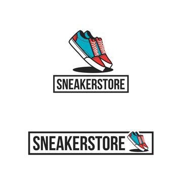Sneaker Shoes Logo Sneakers