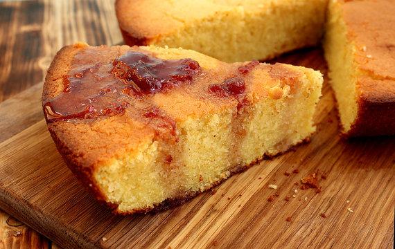 manna cake for tea