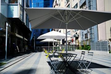 渋谷ストリームのカフェ