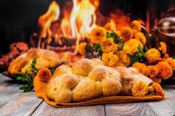 Pan de muerto bread