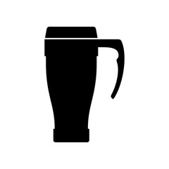Coffee travel thermal mug (cup)