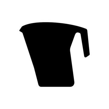 Water jug (pitcher) with filter