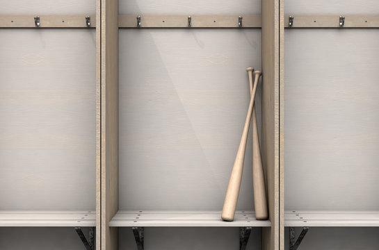 Change Room Cubicles With Baseball Bat