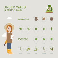 Unser Wald in Deutschland