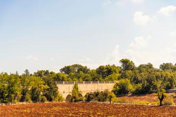 Countryside in Valle d'Itria near Cisternino, Locorotondo and Martina Franca