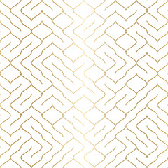 Geometric white seamless pattern background. Simple graphic print. Vector repeating line texture. Modern swatch. Minimalistic shapes. Stylish trellis. Square grid. Trendy wrapping paper design.