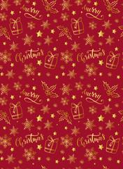 Christmas seamless pattern/print