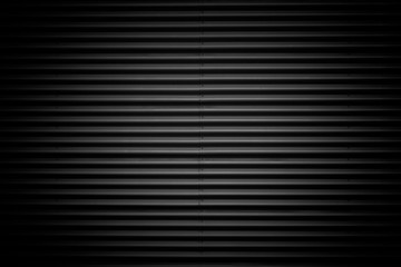 black corrugated metal texture background