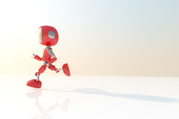 Robot / 3D Render