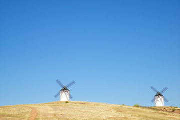 The mills of Don Quixote.