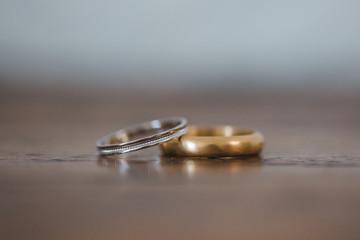 Alliances des futurs époux