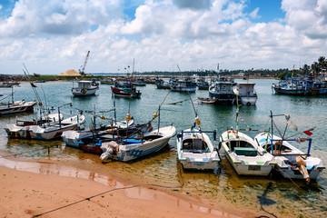 various fishing boats