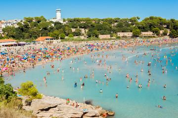plage du Verdon, la Couronne,Martigues, Bouches-du-Rhône, France