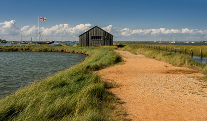 A summers Day at Newtown Creek, Isle of Wight