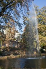 Park der Villa Berberich in Bad Säckingen