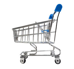 shopping cart. (This has clipping path)