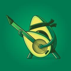 Rock hard avocado
