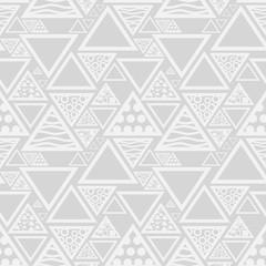 triangle seamless geometric abstract pattern