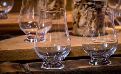 copas de cata de whisky