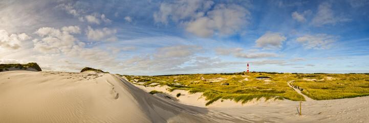 Insel Amrum mit Leuchtturm & Dünenlandschaft