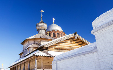 the dome of the Church of the Holy Trinity in Sviyazhsk
