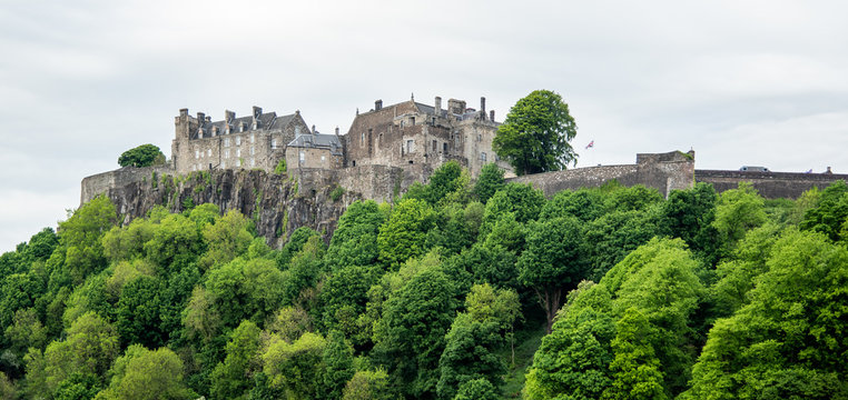 castle on the hill, stirling, scotland