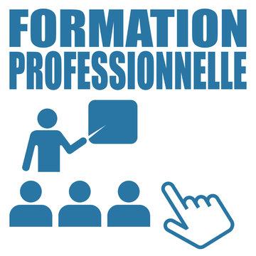 Logo formation professionnelle.