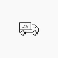 delivery logo set design