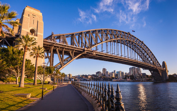 The Sydney Harbour Bridge, Sydney, Australia