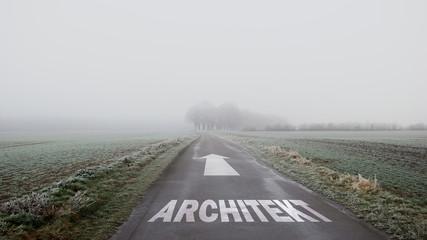 Schild 402 - Architekt