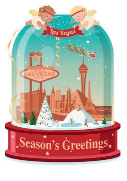 Las Vegas snow ball
