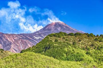 Zafferana Etnea - Vulkan Ätna - Sizilien Fototapete